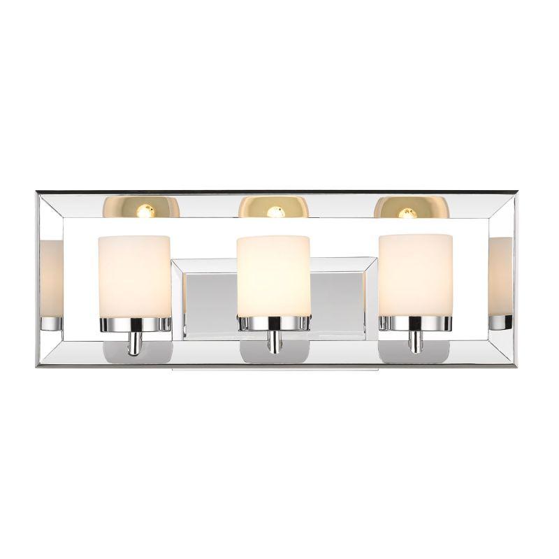 "Golden Lighting 2074-BA3 Smyth II 3 Light 19"" Wide Bathroom Vanity"
