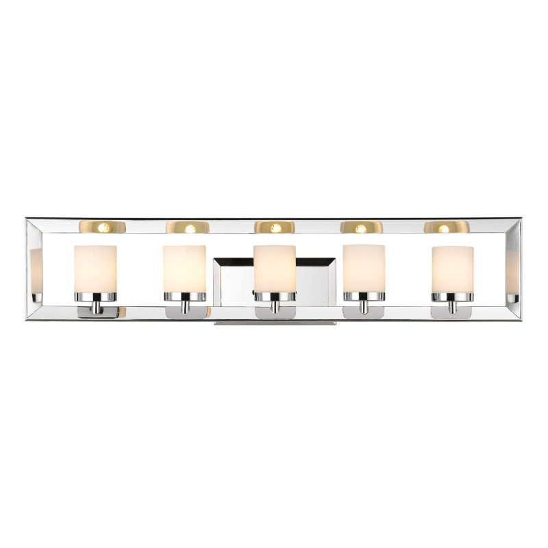"Golden Lighting 2074-BA5 Smyth II 5 Light 33.75"" Wide Bathroom Vanity"