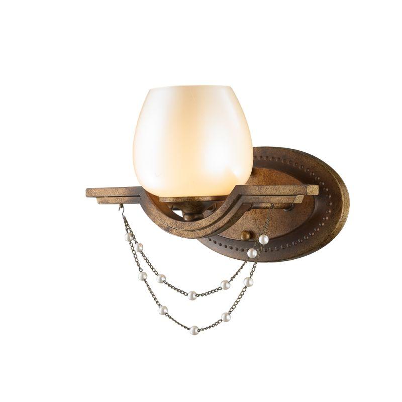 Golden Lighting 3071-BA1 Athena 1 Light Bathroom Vanity Light Grecian