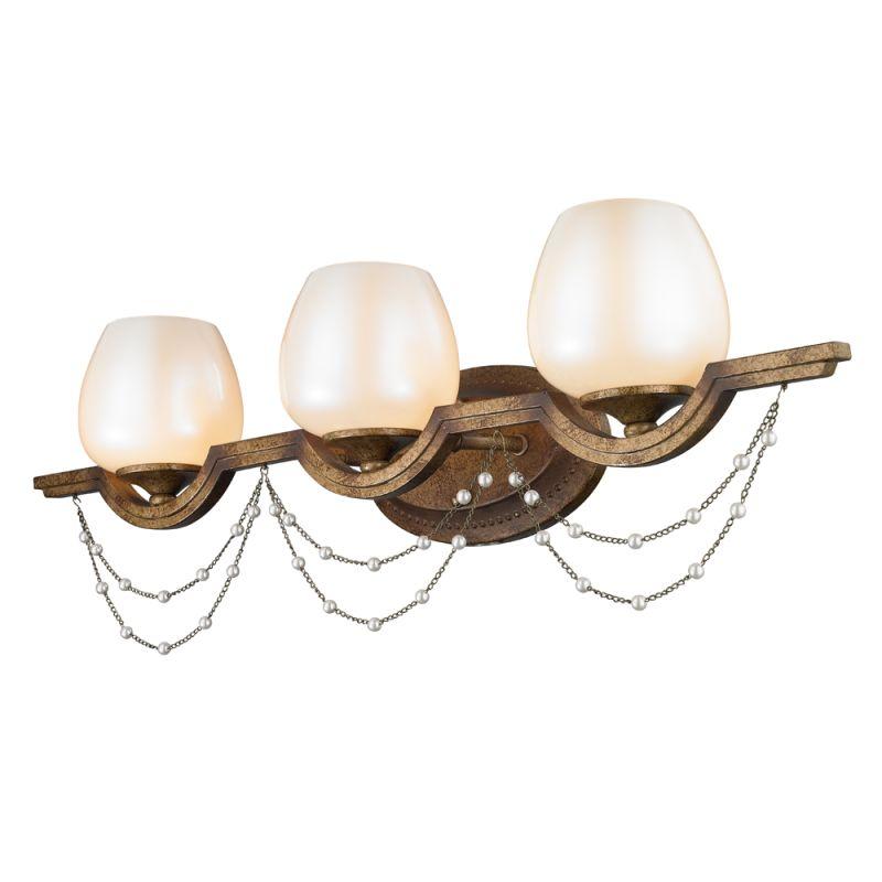 Golden Lighting 3071-BA3 Athena 3 Light Bathroom Vanity Light Grecian