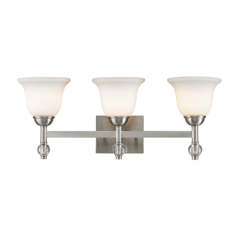 Golden Lighting 3500-BA3 Waverly 3 Light Bathroom Vanity Light with