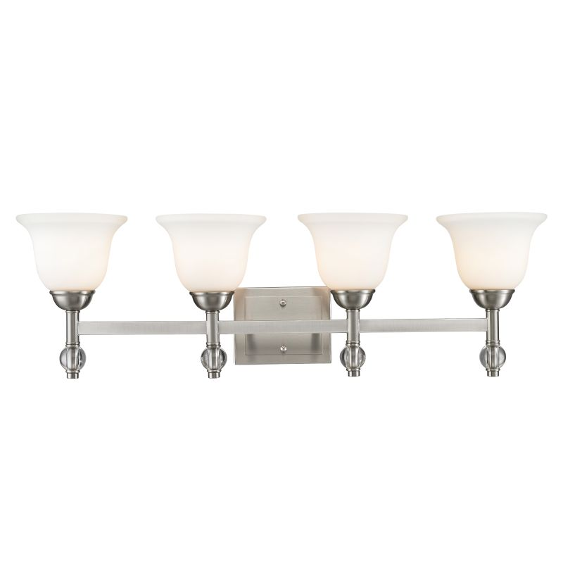 Golden Lighting 3500-BA4 Waverly 4 Light Bathroom Vanity Light with