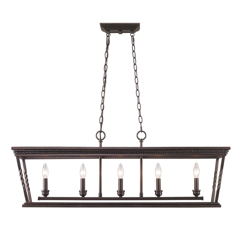 Golden Lighting 4214-LP Davenport 5 Light 1 Tier Chandelier Etruscan Sale $539.00 ITEM: bci2655605 ID#:4214-LP EB UPC: 844375022034 :