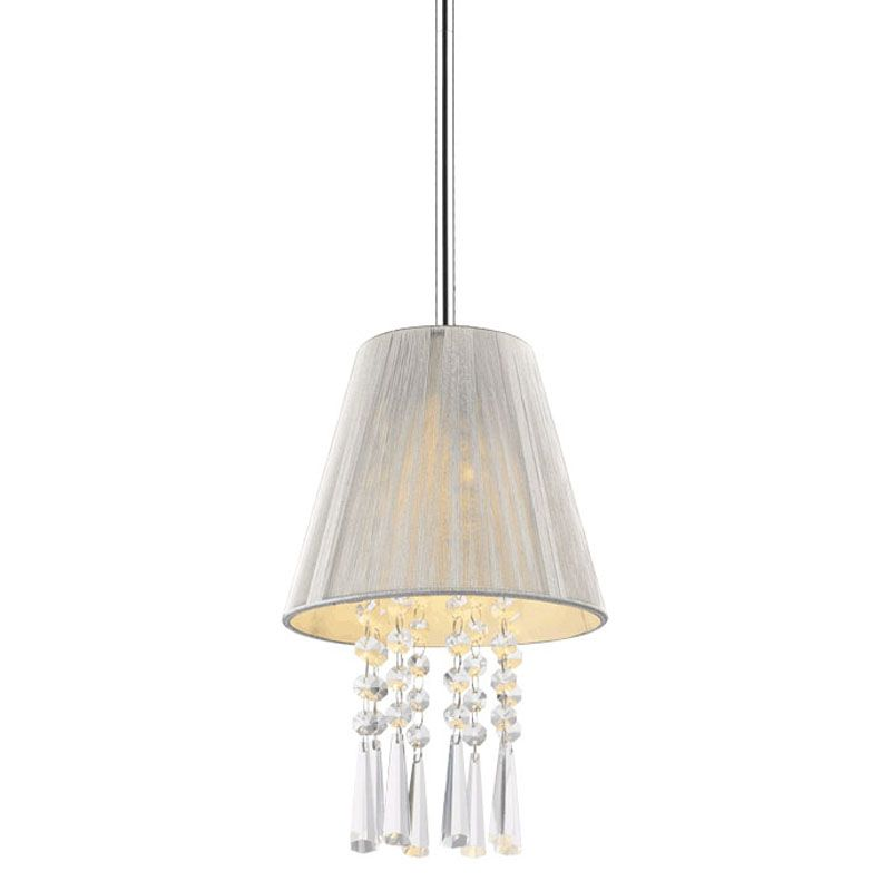 Golden Lighting 8201-M1L SLV Chrome Shade Contemporary Tetiva Pendant Sale $21.00 ITEM: bci2230341 ID#:8201-M1L SLV UPC: 844375016903 :
