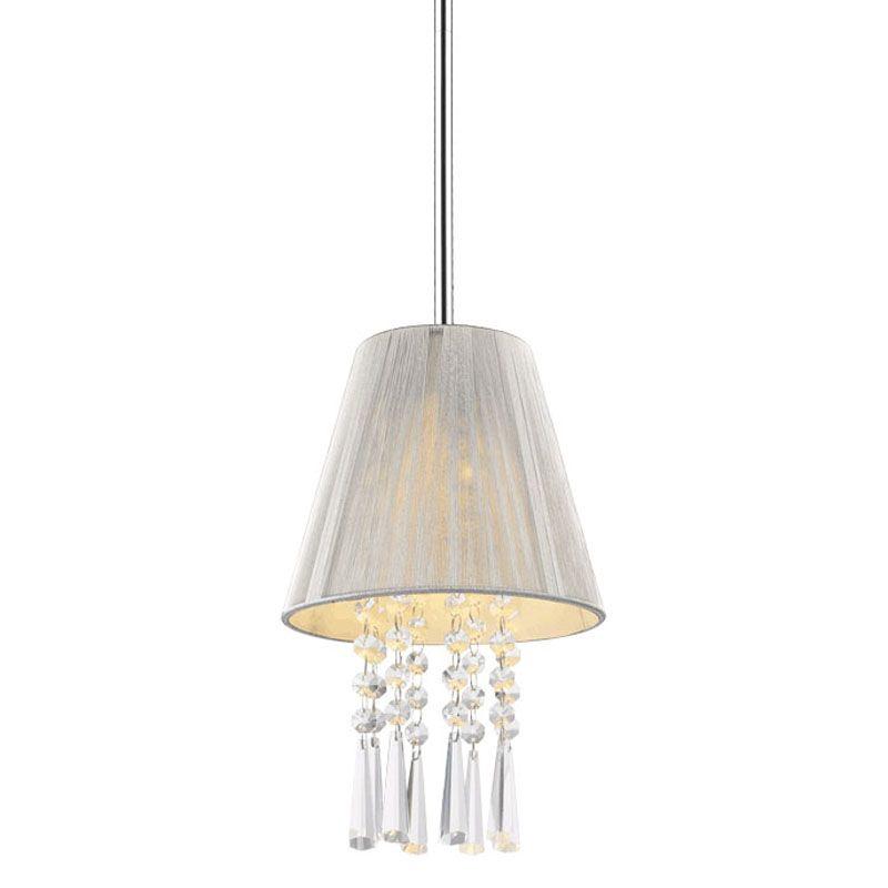 Golden Lighting 8201-M1L SLV Chrome Shade Contemporary Tetiva Pendant Sale $21.00 ITEM: bci2230341 ID#:8201-M1L SLV UPC: 844375016903 :