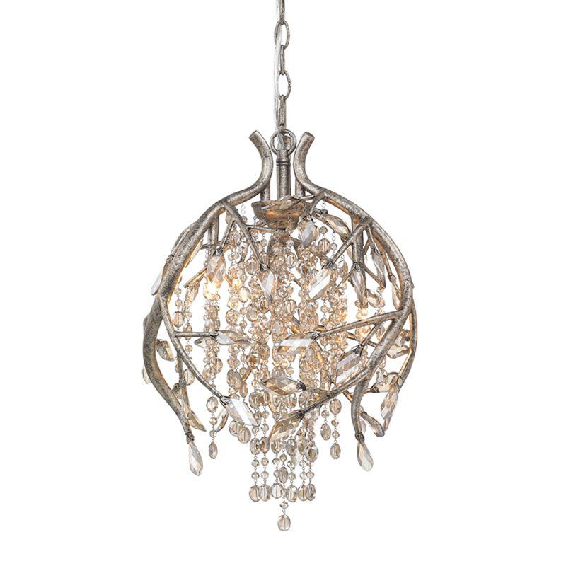 Golden Lighting 9903-3P MG G Contemporary Autumn Twilight Pendant Sale $1039.00 ITEM: bci2341590 ID#:9903-3P MG UPC: 844375017504 :