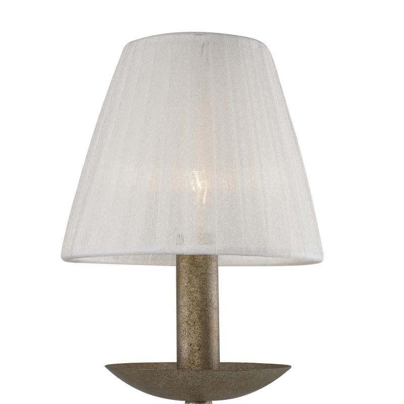 Golden Lighting SHADE-7644 Pearl Chiffon Shade Only - 3 Pack Pearl