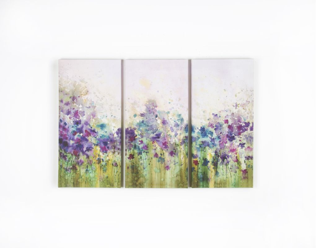 """Graham and Brown 40-242 23 Inch x 35 Inch """"Meadow"""" Three Panel"""
