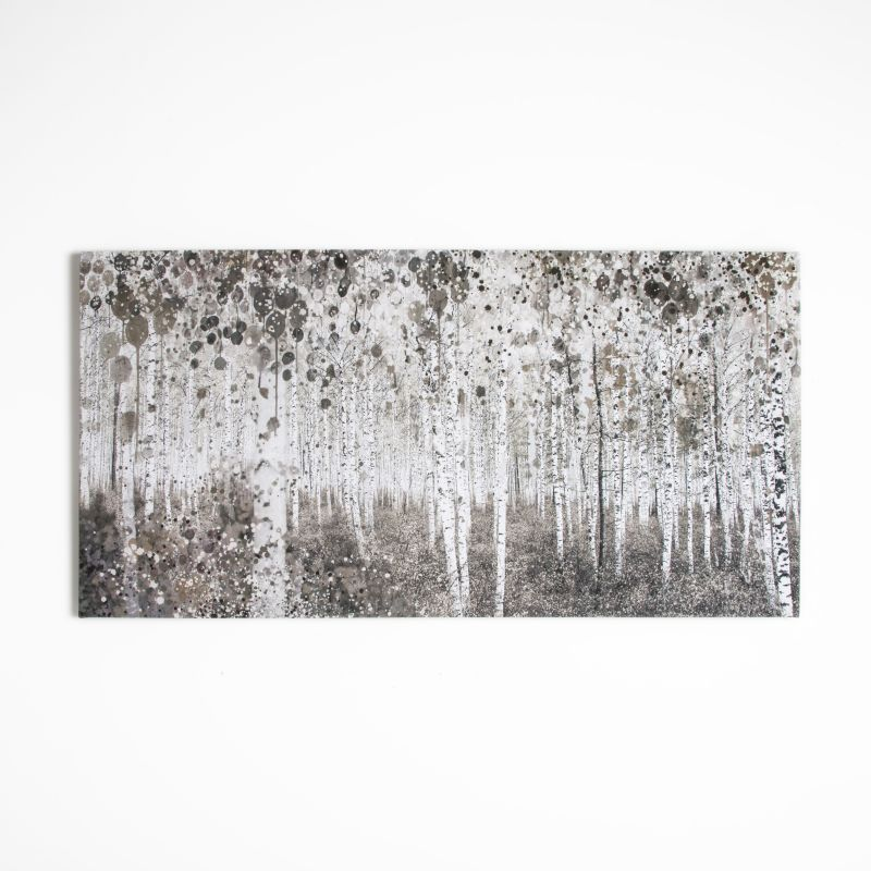 "Graham and Brown 42-238 23 Inch x 47 Inch ""Neutral Woods"" Watercolor"