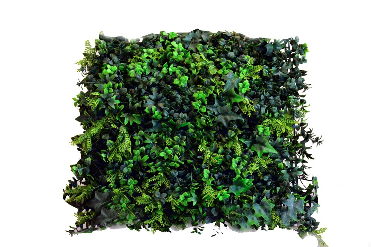"Greensmart Decor MZ-6118 20"" x 20"" Artificial Greenery Wall Panel -"