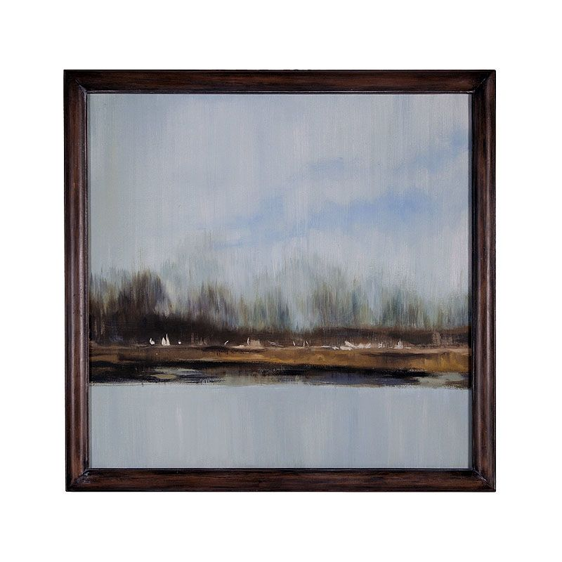 GuildMaster 163525 44 Inch x 44 Inch Shoreline Mahogany Framed