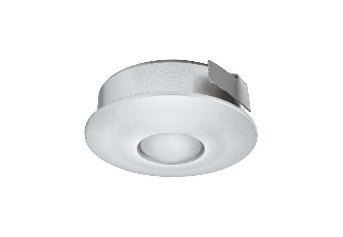 Hafele 833.78.100 1 Watt Recessed Mount LED Downlight Silver Indoor