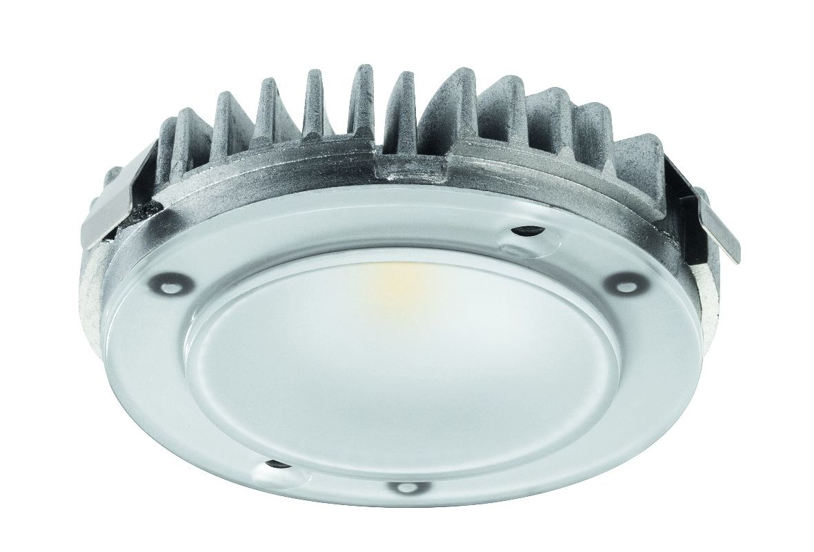 Hafele 833.72.120 LOOX 3.8 Watt LED 2025 Modular Puck Light White
