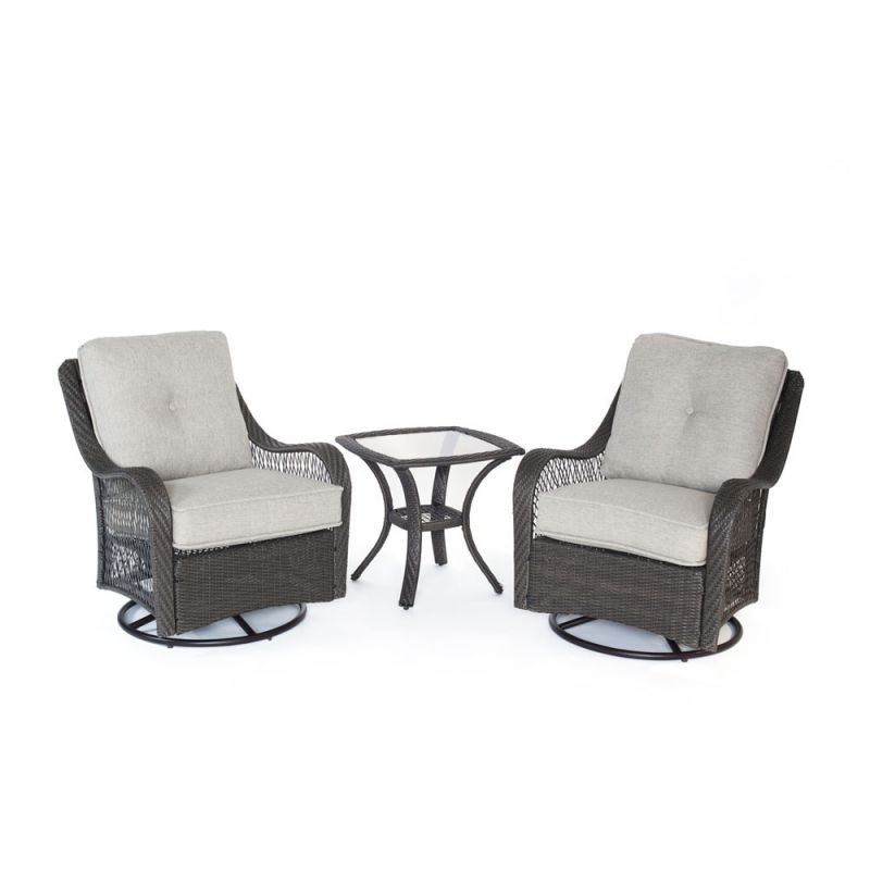 Hanover ORLEANS3PCSW Orleans 3-Piece Steel Framed Resin Wicker Outdoor Sale $899.00 ITEM: bci2957009 ID#:ORLEANS3PCSW-G-SLV UPC: 13964865554 :