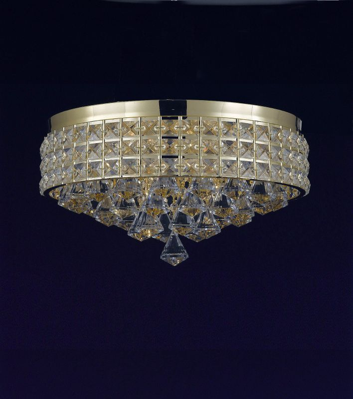 "Harrison Lane J2-1078 4 Light 15"" Wide Flush Mount Ceiling Fixture Sale $155.52 ITEM: bci2967344 ID#:J2-1078 UPC: 611138696463 :"