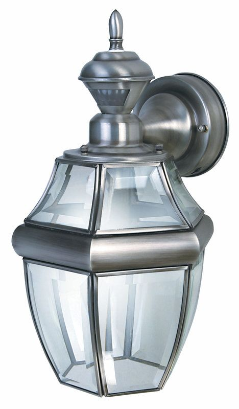 Heath Zenith HZ-4166 1 Light 150 Degree Motion Activated Outdoor Wall