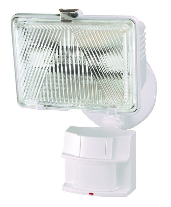 Heath Zenith HZ-5525 1 Light 250 Watt Quartz Halogen Motion Activated