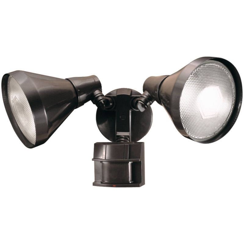 Heath Zenith SL-5412 2 Light 180 Degree Motion Activated Twin Flood
