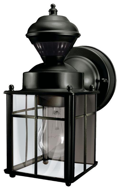 Heath Zenith Sl 4132 Bk Black Bayside 1 Light 150 Degree