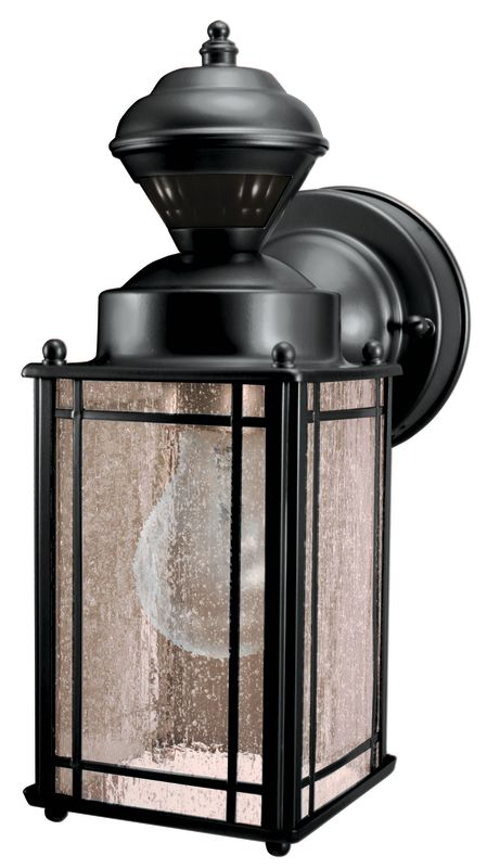 Heath Zenith SL-4135-BK Shaker Cove 1 Light 150 Degree Motion