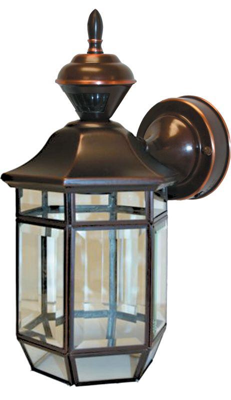 heath zenith sl 4175 ac a antique copper lexington 1 light. Black Bedroom Furniture Sets. Home Design Ideas