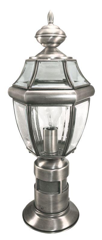 Heath Zenith SL-4370-SA 1 Light 360 Degree Motion Activated Decorative