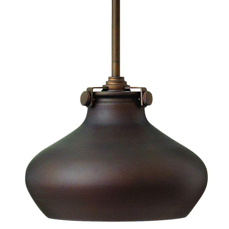 Hinkley Lighting 3138OZ Oil Rubbed Bronze Industrial Congress Pendant