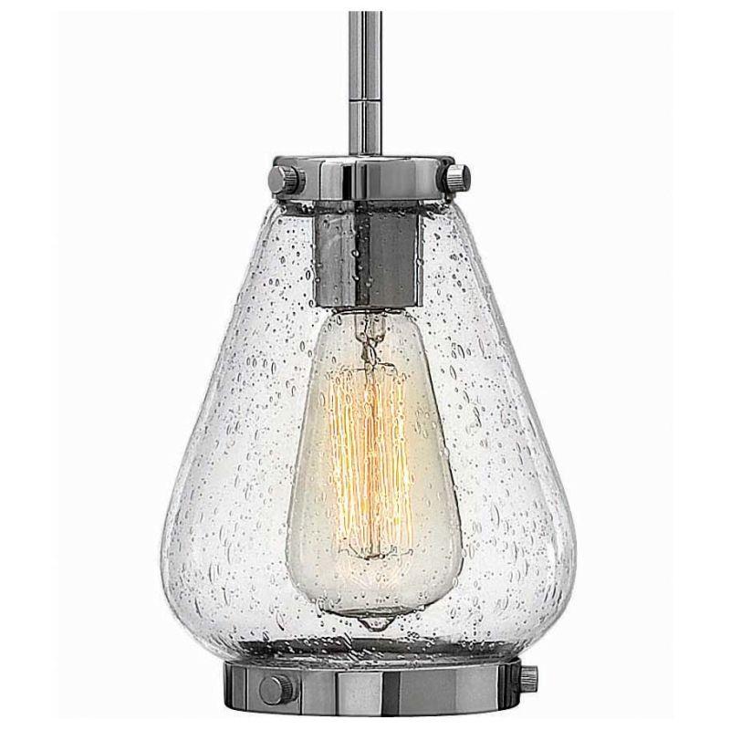 Hinkley Lighting 3687CM Chrome Industrial Finley Pendant