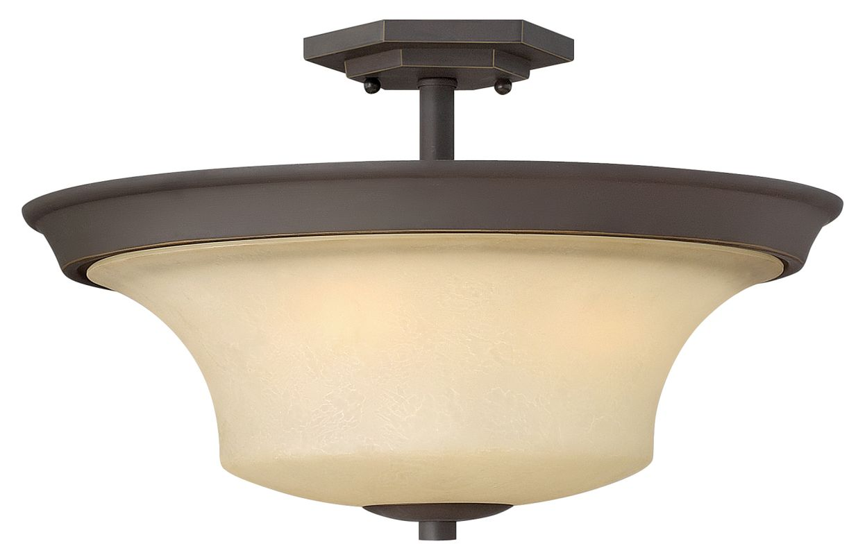 Hinkley Lighting 4632 3 Light Indoor Semi-Flush Ceiling Fixture from Sale $179.00 ITEM: bci1706338 ID#:4632OZ UPC: 640665463217 :