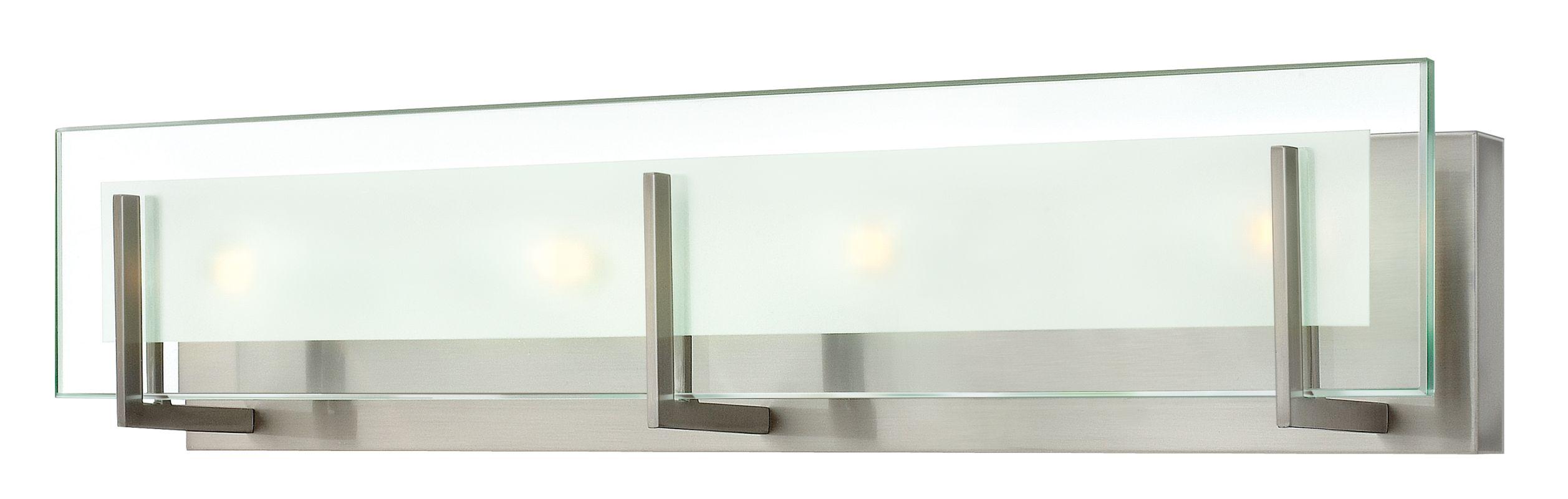 Hinkley 5654BN Brushed Nickel Contemporary Latitude Bathroom Light