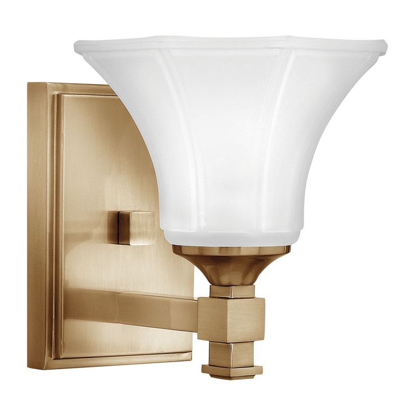 "Hinkley Lighting 5850 1 Light 6.75"" Width Bathroom Sconce from the"