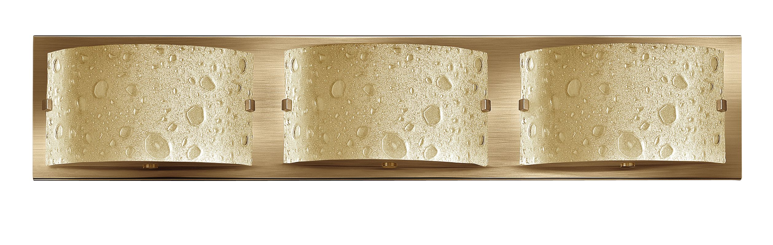"Hinkley Lighting 5923BR 3 Light 24"" Wide Bathroom Fixture from the"