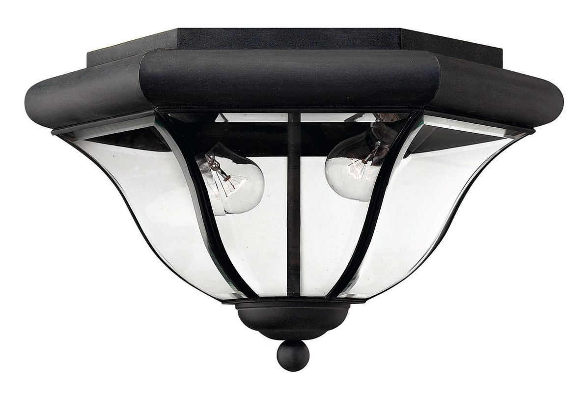 Hinkley Lighting H2443 2 Light Outdoor Flush Mount Ceiling Fixture