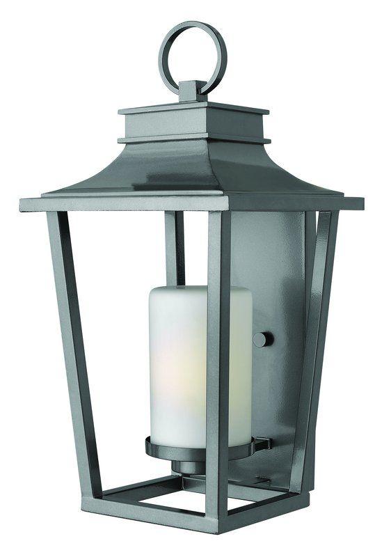 """Hinkley Lighting 1745-LED 1 Light 23"""" Height LED Outdoor Lantern Wall"""