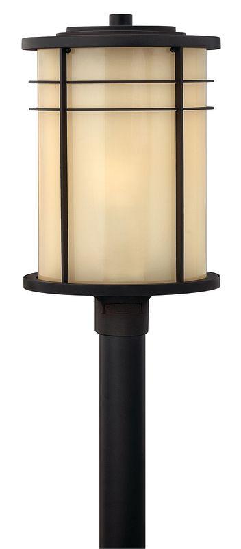 Hinkley Lighting 1121-LED 1 Light LED Post Light from the Ledgewood