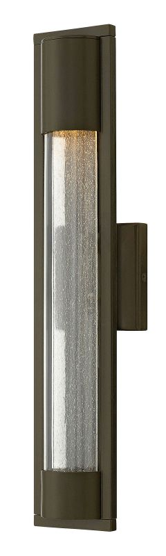 Hinkley Lighting 1224 1 Light ADA Compliant Outdoor Wall Sconce From Sale $189.00 ITEM: bci2951163 ID#:1224BZ UPC: 640665122435 :