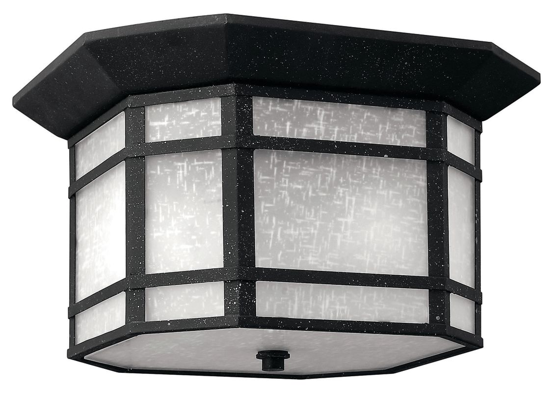 Hinkley Lighting 1273-GU24 2 Light Title 24 Fluorescent Outdoor Flush