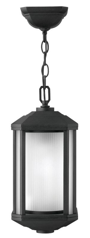 Hinkley Lighting 1392-LED 1 Light LED Outdoor Small Pendant from the Sale $319.00 ITEM: bci2634934 ID#:1392BK-LED UPC: 640665139266 :