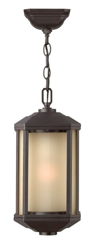 Hinkley Lighting 1392-GU24 1 Light Outdoor Lantern Pendant with Sale $239.00 ITEM: bci2225526 ID#:1392BZ-GU24 UPC: 640665139259 :