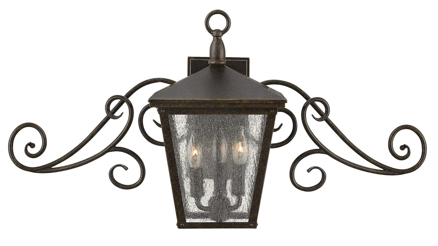 Hinkley Lighting 1433 3 Light Outdoor Lantern Wall Sconce from the Sale $459.00 ITEM: bci2634946 ID#:1433RB UPC: 640665143300 :