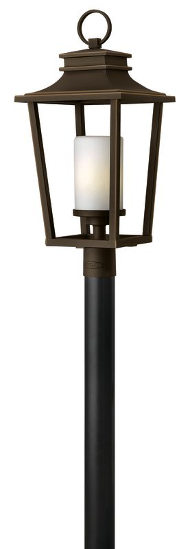 Hinkley Lighting 1741-LED 1 Light LED Post Light from the Sullivan Sale $429.00 ITEM: bci2634988 ID#:1741OZ-LED UPC: 640665174229 :
