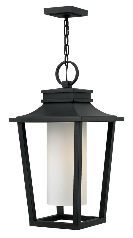Hinkley Lighting 1742-LED 1 Light LED Full Sized Outdoor Pendant from Sale $469.00 ITEM: bci2634991 ID#:1742BK-LED UPC: 640665174267 :