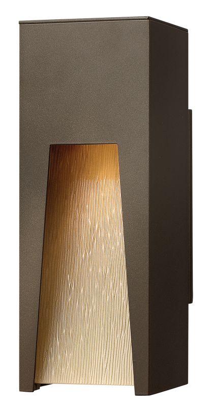 Hinkley Lighting 1760BZ-LED Bronze Contemporary Kube Wall Sconce