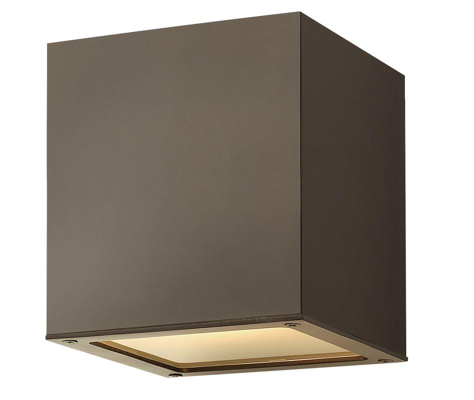 Hinkley Lighting 1763BZ-GU24 Bronze Contemporary Kube Ceiling Light Sale $219.00 ITEM: bci2225485 ID#:1763BZ-GU24 UPC: 640665076301 :