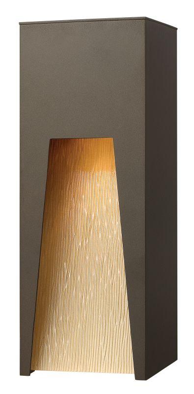 Hinkley Lighting 1764BZ-LED Bronze Contemporary Kube Wall Sconce