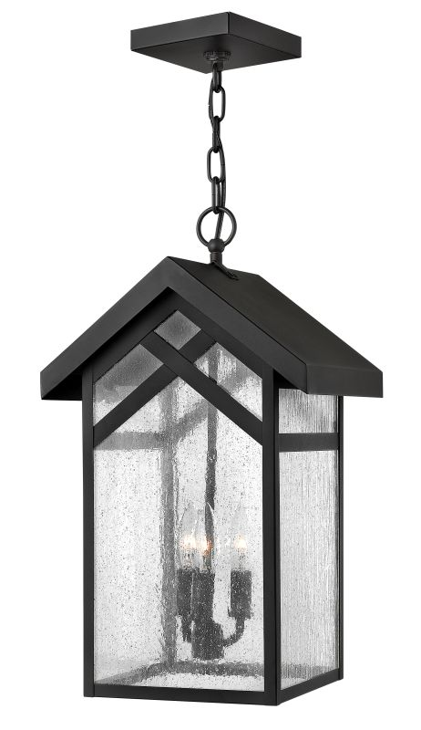 Hinkley Lighting 1792-GU24 1 Light Outdoor Lantern Pendant from the Sale $349.00 ITEM: bci2172897 ID#:1792BK-GU24 UPC: 640665179224 :
