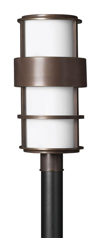 Hinkley Lighting 1901-LED 1 Light LED Post Light from the Saturn Sale $559.00 ITEM: bci2635022 ID#:1901MT-LED UPC: 640665190328 :