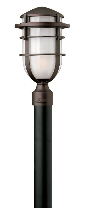 Hinkley Lighting 1951-GU24 1 Light Post Light from the Reef Collection