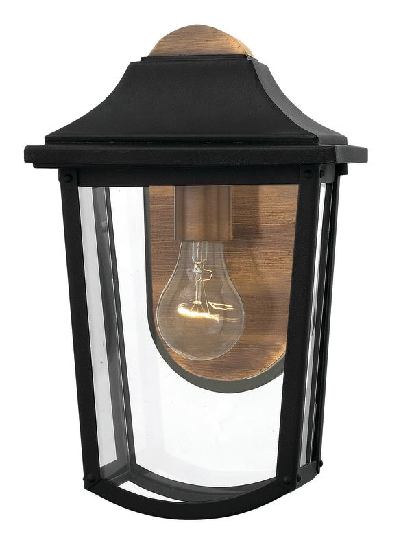 Hinkley Lighting 1970 1 Light Outdoor Lantern Wall Sconce from the Sale $209.00 ITEM: bci2635060 ID#:1970BK UPC: 640665197006 :
