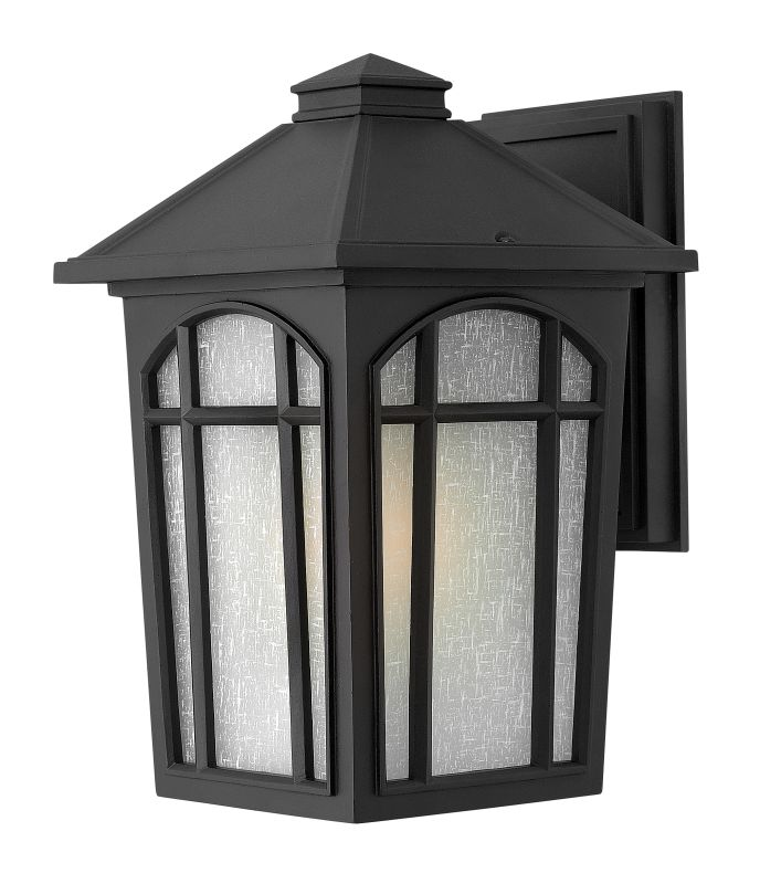 "Hinkley Lighting 1984-GU24 12.5"" Height 1 Light Lantern Fluorescent Sale $149.00 ITEM: bci2225639 ID#:1984BK-GU24 UPC: 640665098402 :"